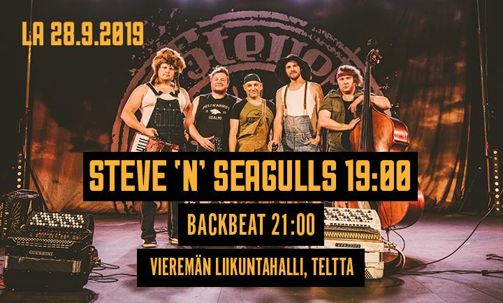 Steve 'n' Seagulls & BackBeat