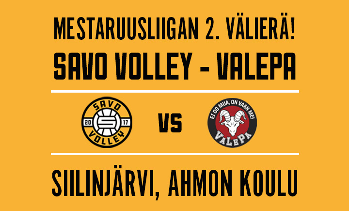 Savo Volley - VaLePa 2. VÄLIERÄ