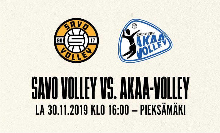 Savo Volley - Akaa-Volley