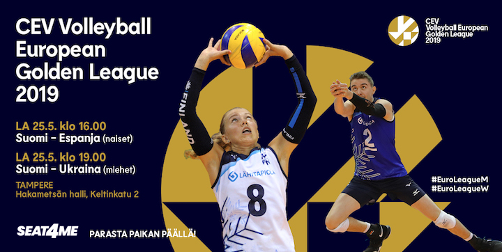 CEV Volleyball European Golden League 2019 Tampere