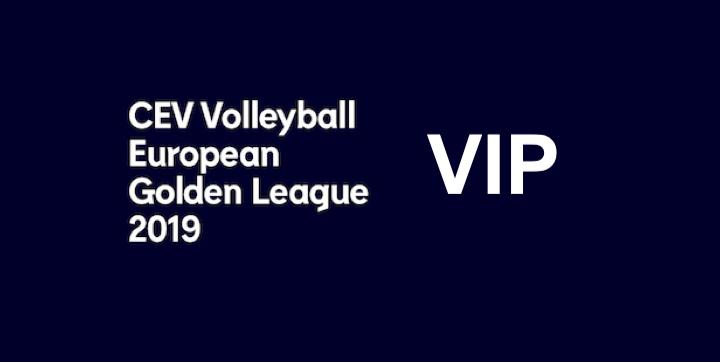 CEV Volleyball European Golden League 2019 Tampere VIP